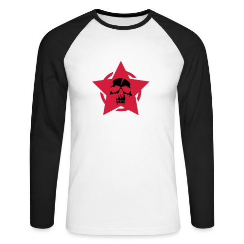 rock shirt - Langermet baseball-skjorte for menn