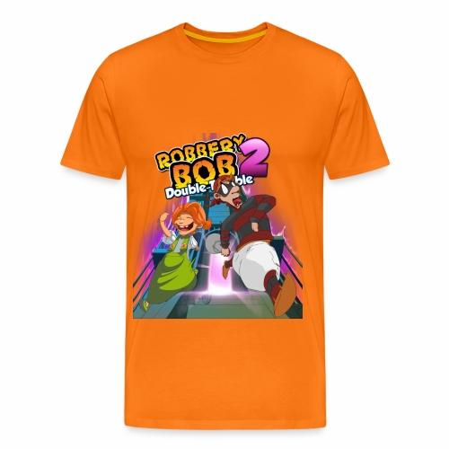Robbery Bob Trouble T-shirt - Men! - Men's Premium T-Shirt