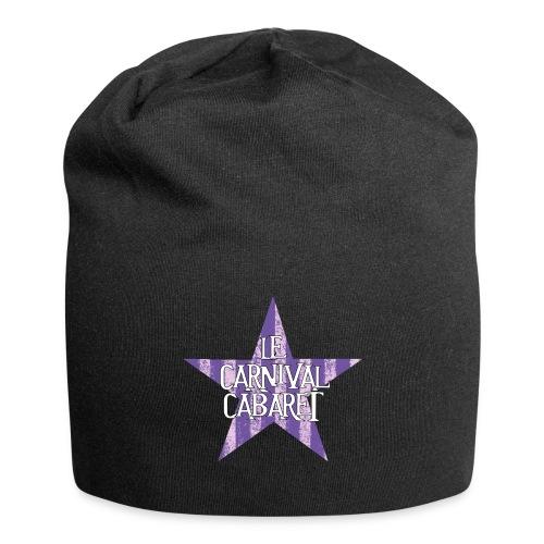 bonnet LCC noir etoie violette - Jersey Beanie