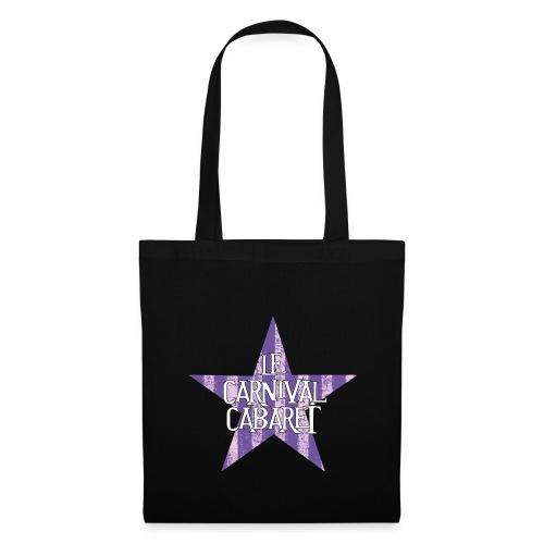 sac LCC noir etoile violette - Tote Bag