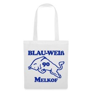 Blau-Weiß Einkaufbeutel! - Stoffbeutel