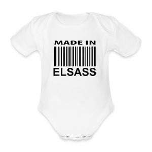 Made in Elsass - Body bébé bio manches courtes