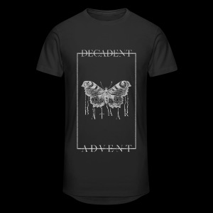 DECADENT MOTH Long T-shirt - Men's Long Body Urban Tee