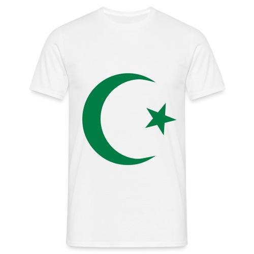 Muslim symbol - Mannen T-shirt