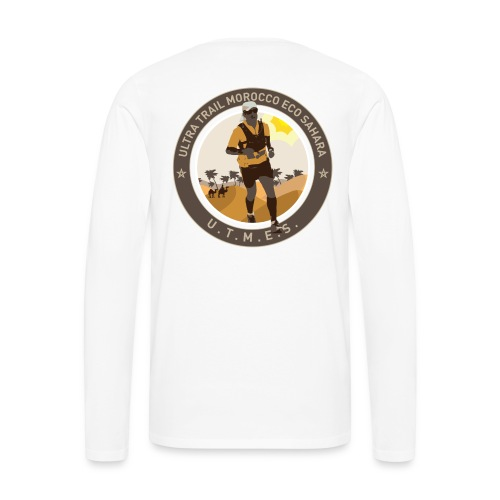 UTMES Männer Long Sleeve Shirt - Männer Premium Langarmshirt