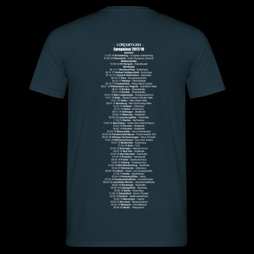 Men-Shirt CORNAMUSA Tour 2017/18 - Männer T-Shirt