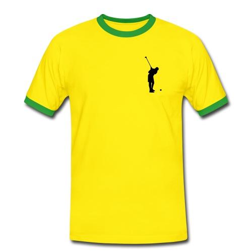camiseta mangas cortas divertida 2 - Camiseta contraste hombre