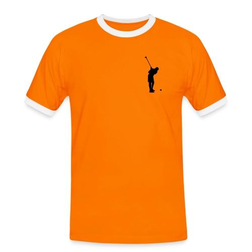camiseta mangas cortas divertida 3 - Camiseta contraste hombre