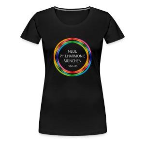 Neue Philharmonie München // f - Frauen Premium T-Shirt