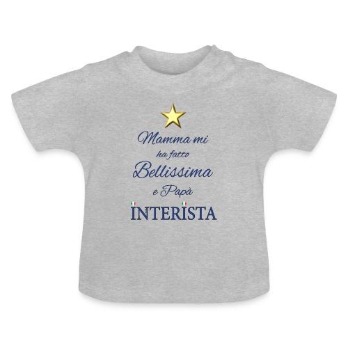 La bellissima Interista di Papà - Maglietta per neonato
