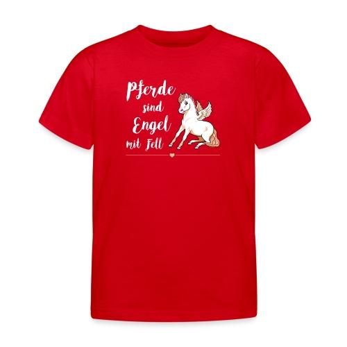 Pferde sind Engel - Shirt Kinder - Kinder T-Shirt