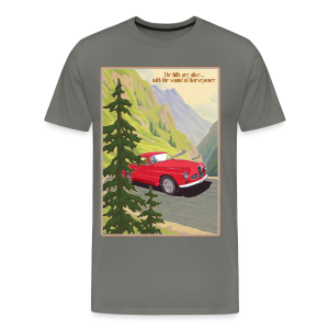the hills are alive - Mannen Premium T-shirt