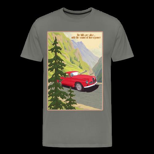 the hills are alive - Mannen Premium T-shirt