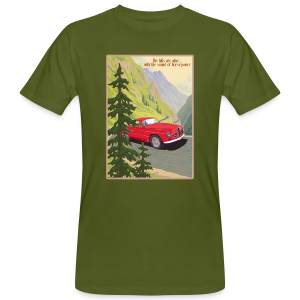 the hills are alive - Mannen Bio-T-shirt
