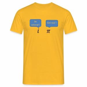 i pi - Mannen T-shirt