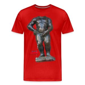 BIG MAN · 撒尿小童 T恤 - T-shirt Premium Homme