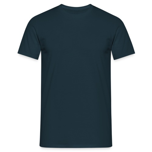 Plain Navy Tee - Men's T-Shirt