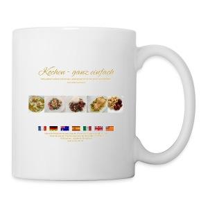 Kaffeetasse für Rechtshänder - Tasse
