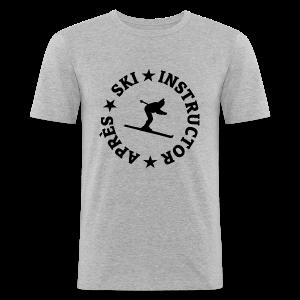 Après-Ski Instructor T-Shirt - Männer Slim Fit T-Shirt