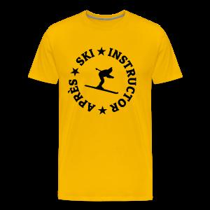 Après-Ski Instructor T-Shirt - Männer Premium T-Shirt