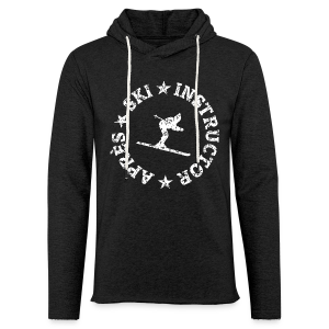 Après-Ski Instructor Hoodie (Distressed White) - Leichtes Kapuzensweatshirt Unisex