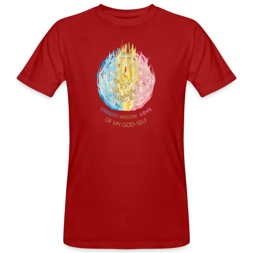 healing tshirt - Männer Bio-T-Shirt