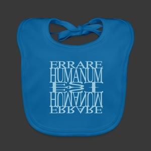 ERRARE HUMANUM EST - Baby Organic Bib