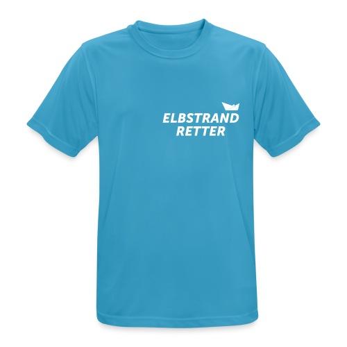 das RETTER SHIRT (für den Herren) /  mit bedrucktem Rücken - Männer T-Shirt atmungsaktiv