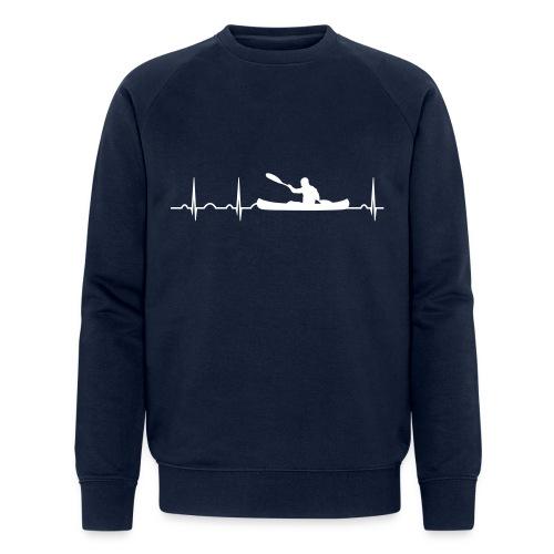 Herzschlag - Männer Bio-Sweatshirt von Stanley & Stella