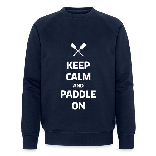 keep calm - Männer Bio-Sweatshirt von Stanley & Stella