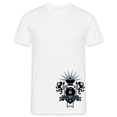 vinil lover - Camiseta hombre