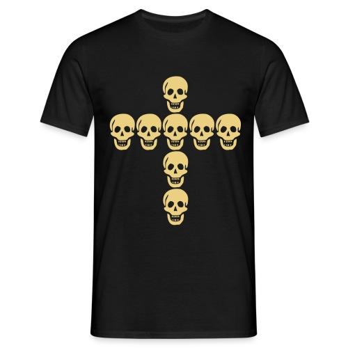 skulls cross - T-shirt Homme