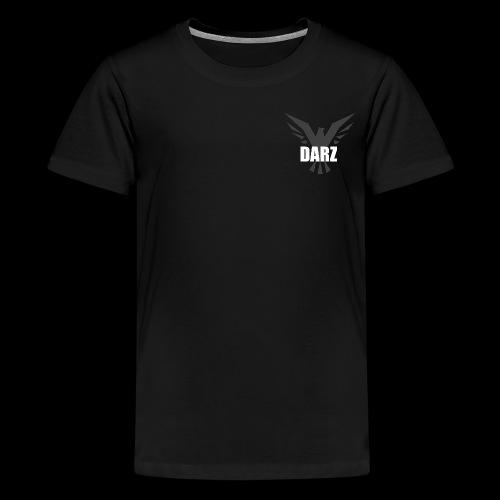 Tiener shirt zwart - Teenager Premium T-shirt