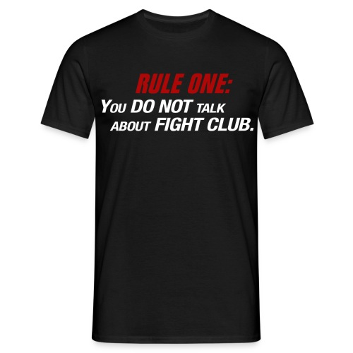 Men's T-shirt - Fight Club - Men's T-Shirt