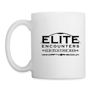 Elite Encounters Logo Monochrome Mug - Mug