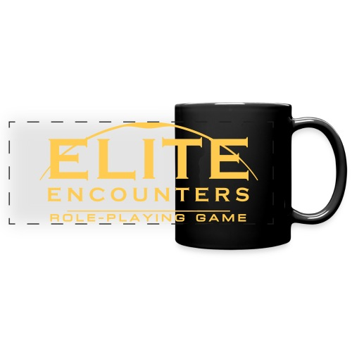Elite Encounters Wraparound Logo Mug - Full Color Panoramic Mug