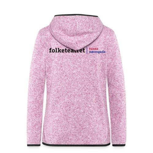 Dame Steadman Hættetrøje, Kombi logo - Dame hætte-fleecejakke
