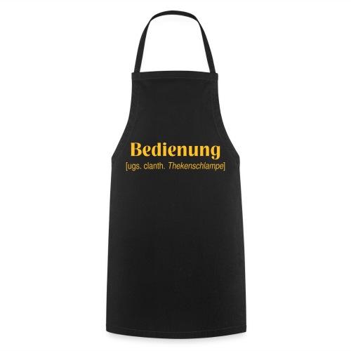 Schürze Bedienung 1 - Kochschürze