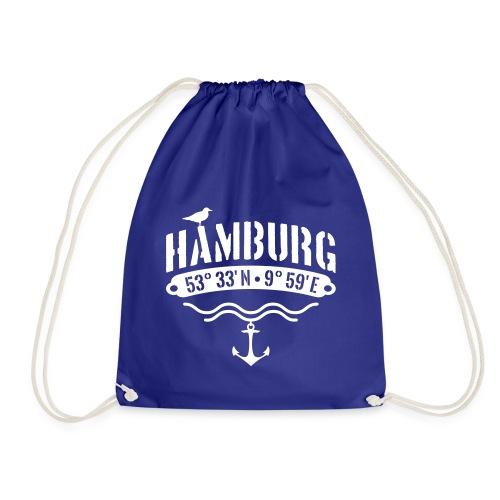 Hamburg Koordinaten - Turnbeutel
