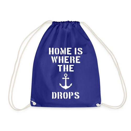 Home is where the anchor drops - Turnbeutel