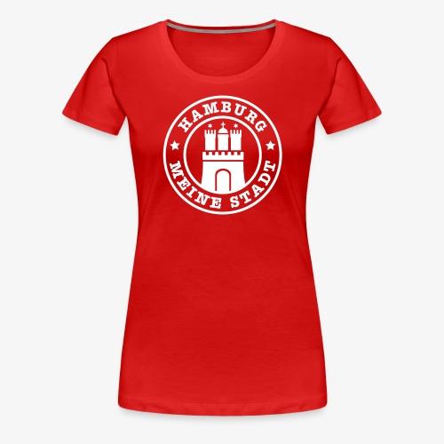 HEIMATSTADT HAMBURG Wappen Frauen T-Shirt - Frauen Premium T-Shirt