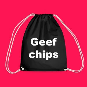 Gymtas 'Geef chips' - Gymtas