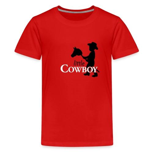 Little Cowboy W - T-Shirt - Teenager Premium T-Shirt