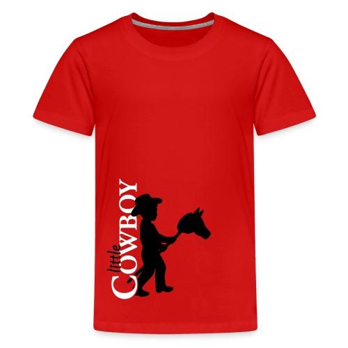 Little Cowboy S - T-Shirt - Teenager Premium T-Shirt