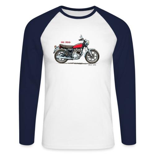2J4 Guss Baseball Sleeve - Männer Baseballshirt langarm