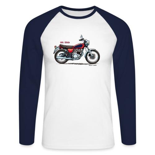 2J4 Speiche Baseball Sleeve - Männer Baseballshirt langarm