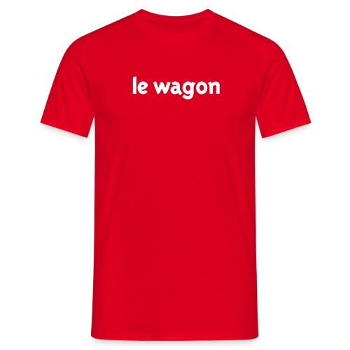 Le Wagon Font Tee for men - Men's T-Shirt