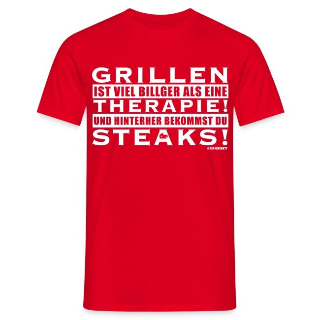 Grillen ist viel billiger als eine Therapie!