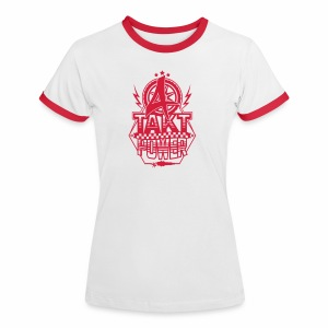 4-Takt-Power / Viertaktpower - Frauen Kontrast-T-Shirt