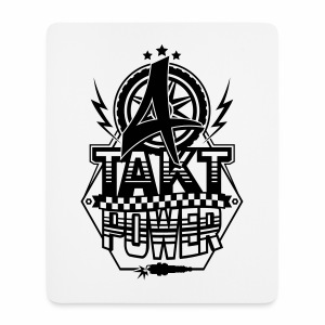 4-Takt-Power / Viertaktpower - Mousepad (Hochformat)